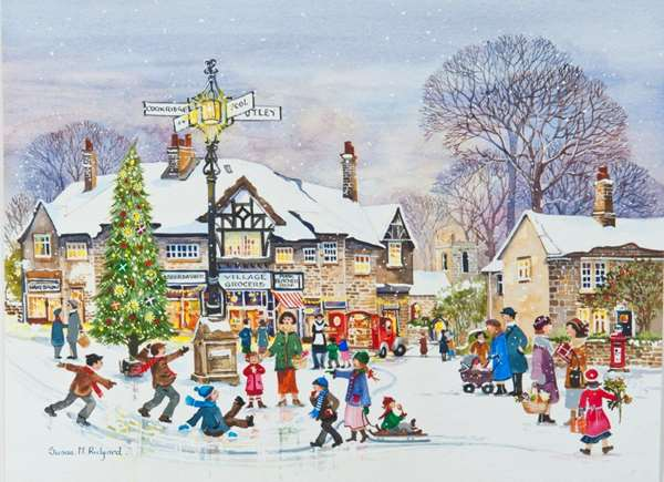 Winter Fun - Extra Large jigsaw puzzle