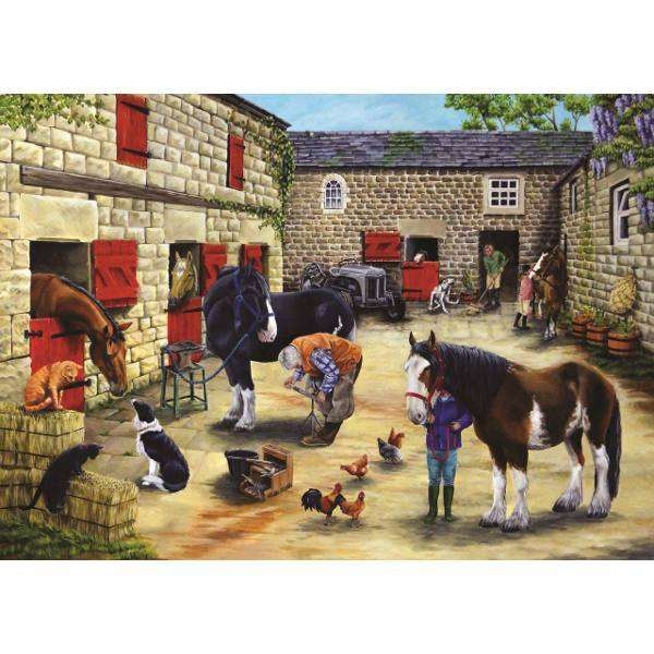 Farriers Visit jigsaw puzzle