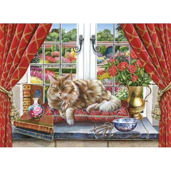 King Of The Castle - Extra Large jigsaw puzzle