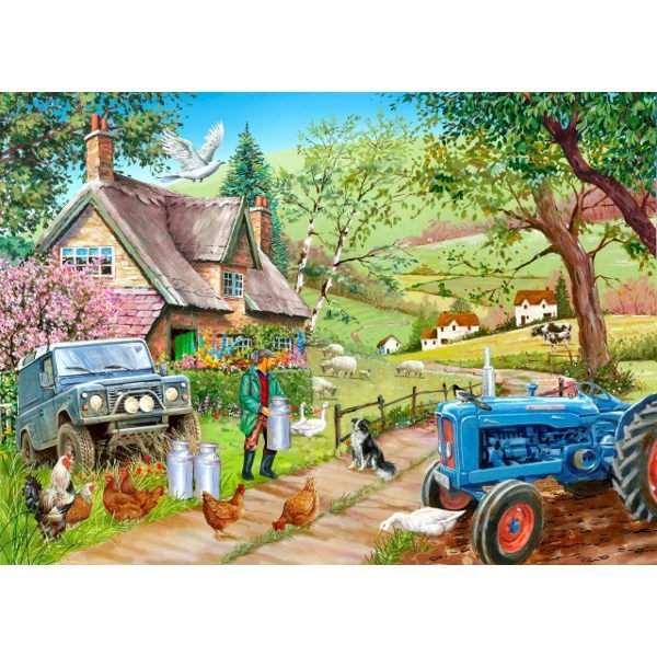 Farm Fresh - 500pc jigsaw puzzle
