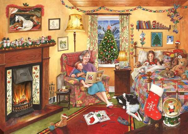 A Story For Christmas - 1000pc jigsaw puzzle