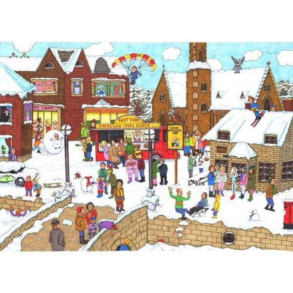 Its Cold Outside - 1000pc jigsaw puzzle