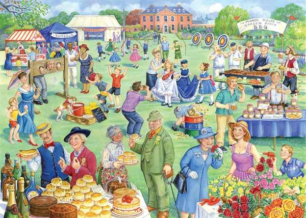 Summer Fete - Extra Large jigsaw puzzle