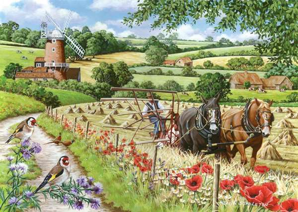 windmill lane extra large jigsaw puzzle from jigsaw puzzles direct
