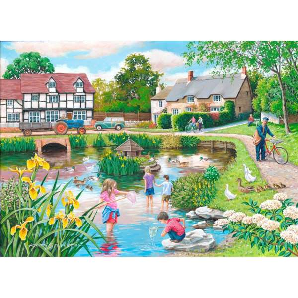 Duck Pond - Extra Large jigsaw puzzle