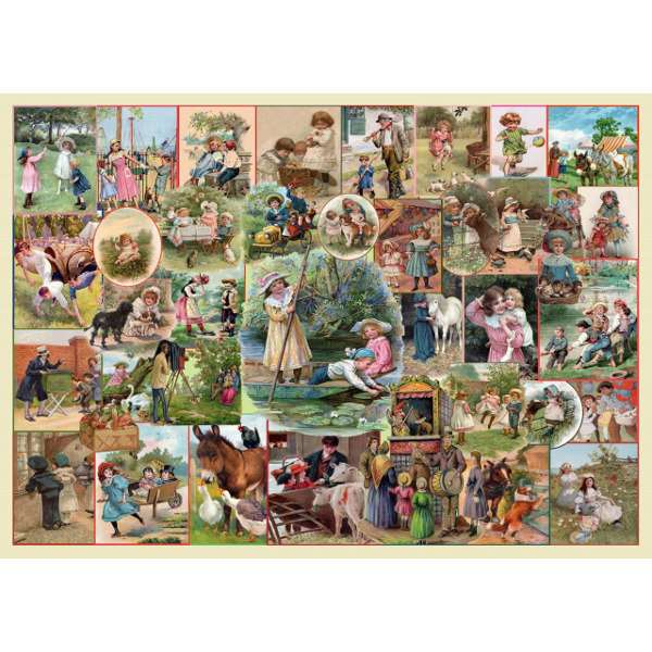 Playtime Pursuits - Extra Large jigsaw puzzle