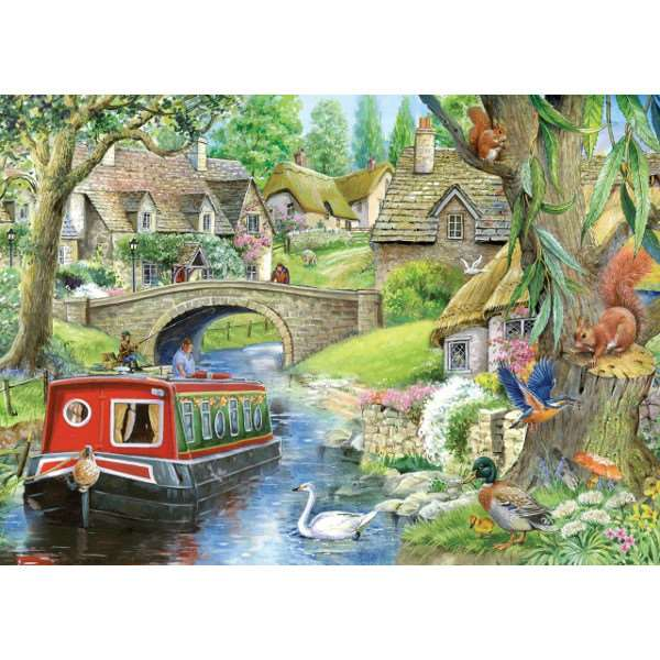 Taking it Easy - Extra Large jigsaw puzzle