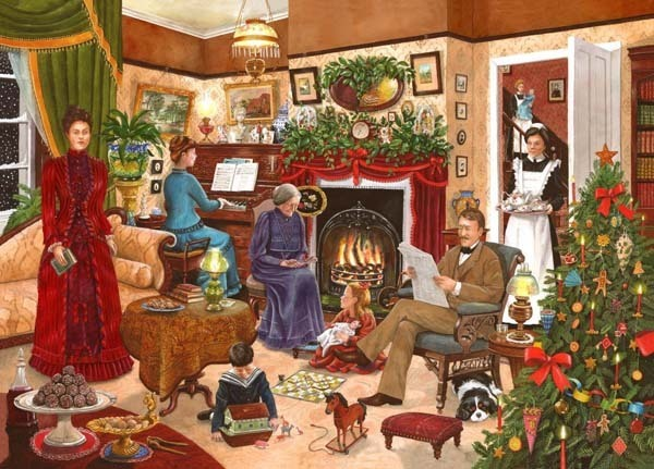 Christmas Past Ltd Edition 12 - 1000pc jigsaw puzzle