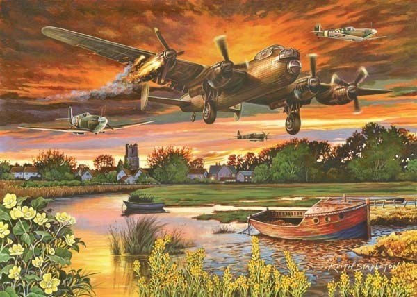On a Wing and a Prayer - 1000pc jigsaw puzzle