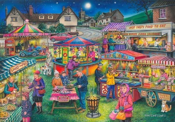 Village Fayre Find -  The Difference 13 - 1000pc jigsaw puzzle