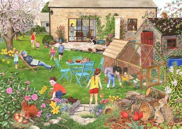 Egg Hunt - 500pc jigsaw puzzle