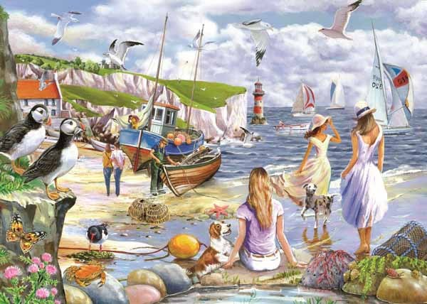 Sea Shore Breezes - 500XLpc jigsaw puzzle