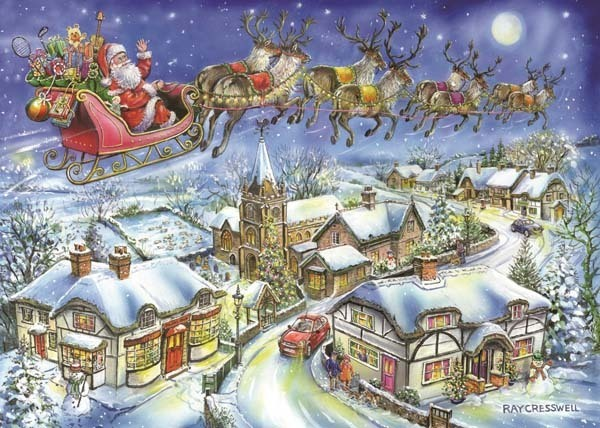 Christmas Eve - 500pc jigsaw puzzle