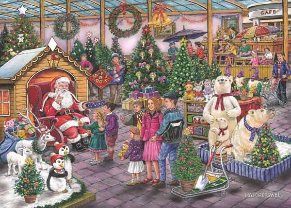 Deck the Halls - Find the Difference 17 - 1000pc jigsaw puzzle
