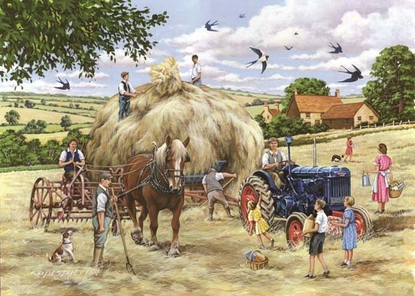 Making Hay - Big 500pc jigsaw puzzle