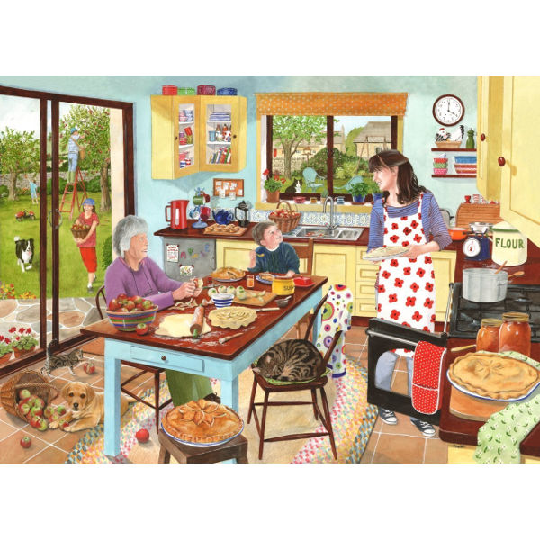 Baking Apple Pies -1000pc jigsaw puzzle