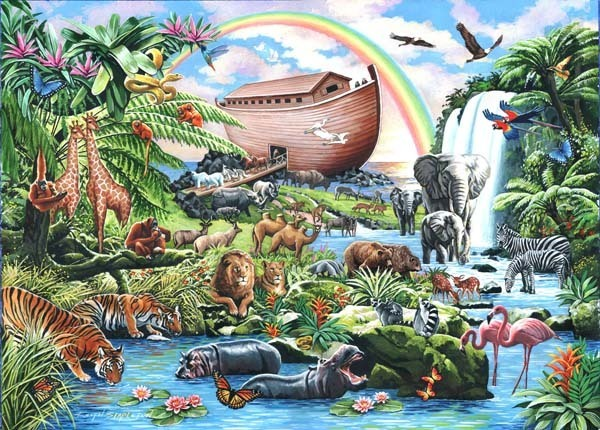 Noahs Ark - Big 500pc jigsaw puzzle