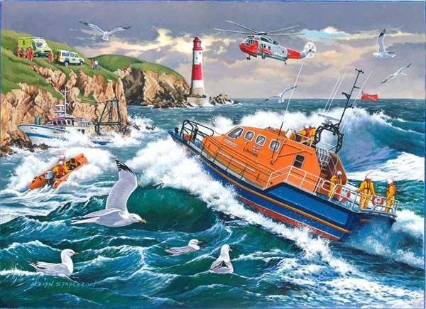 For Those In Peril - RNLI jigsaw puzzle