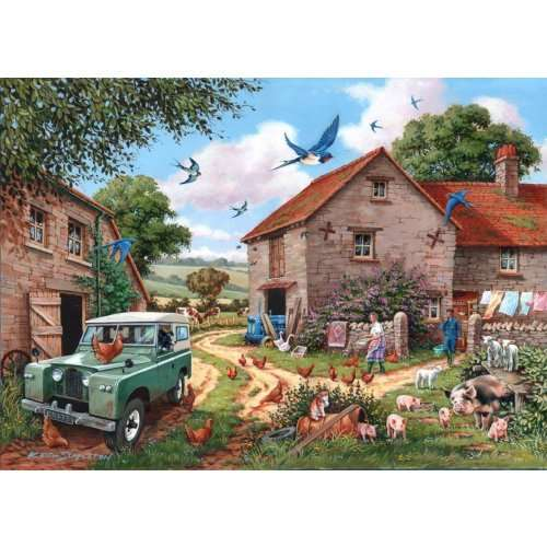 Farmers Wife - Extra Large jigsaw puzzle