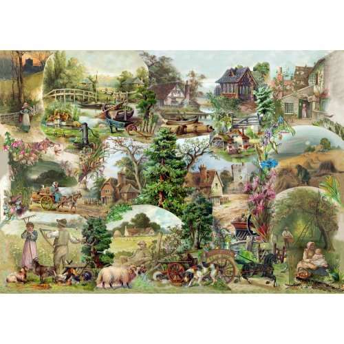 Pastoral - Extra Large jigsaw puzzle