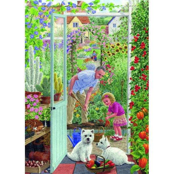 Through the Greenhouse Door - 500pc jigsaw puzzle