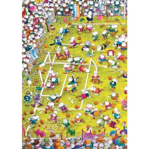 Crazy Football jigsaw puzzle