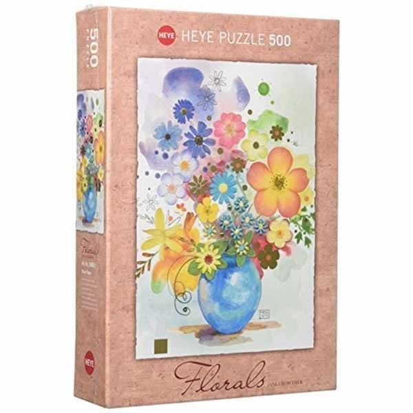 Blue Vase - 500pc jigsaw puzzle