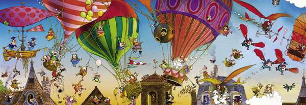 Ballooning - 1000pc jigsaw puzzle