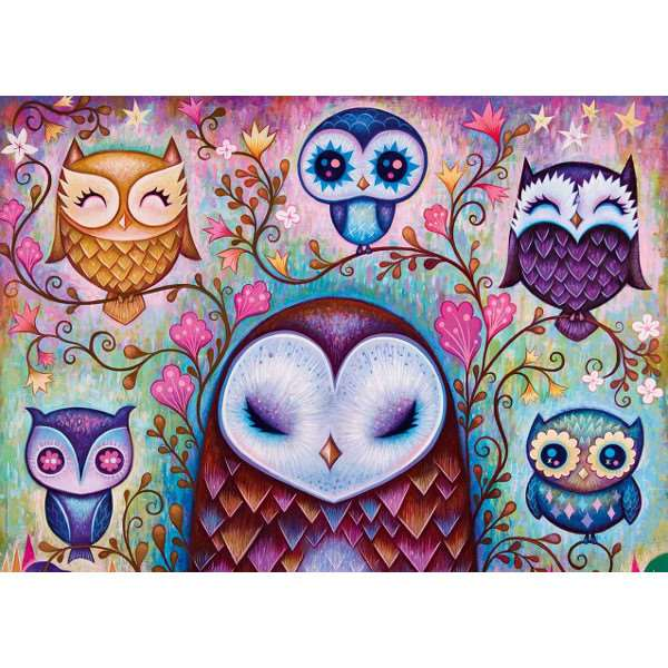Great Big Owl - 1000pc jigsaw puzzle