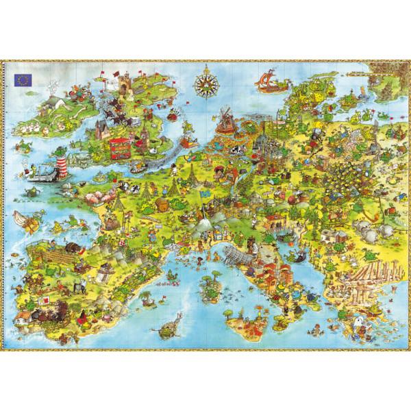 Europe Landmarks Jigsaw Puzzle 2000pc