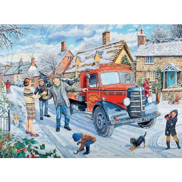 Happy Days at Work - The Coalman - 500pc jigsaw puzzle