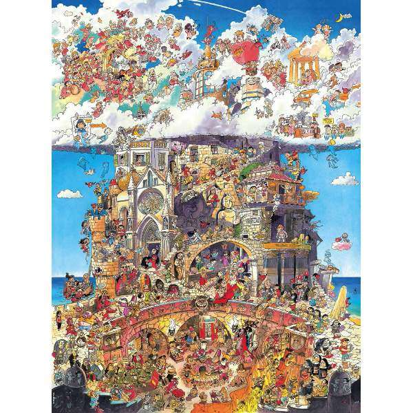 Heaven and Hell -1500pc jigsaw puzzle
