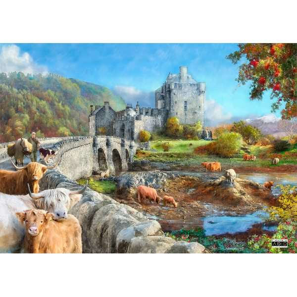 Highland Morning - 1000pc jigsaw puzzle