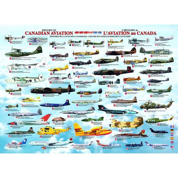 History of Canadian Aviation jigsaw puzzle
