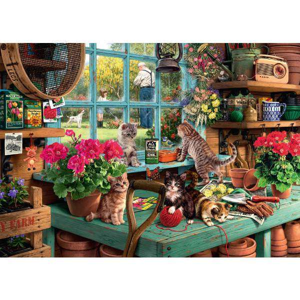 Ravensburger Is he watching 1000pc Jigsaw Puzzle