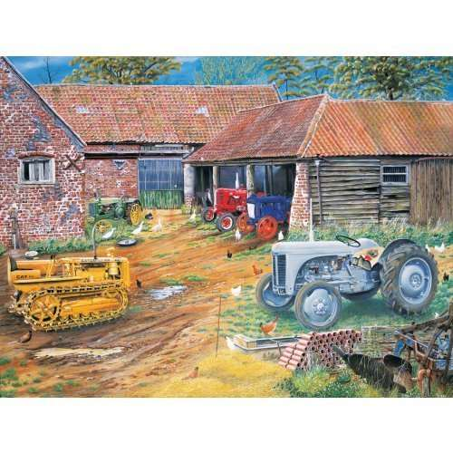 Farmers Classic Collection jigsaw puzzle