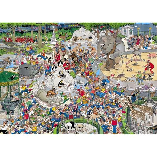 The Zoo - JVH jigsaw puzzle