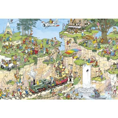 the golf course 1500 piece jvh jigsaw puzzle from jigsaw. Black Bedroom Furniture Sets. Home Design Ideas