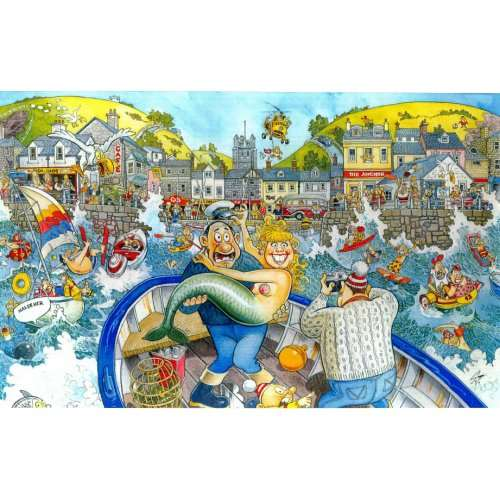 Wasgij 16 - Catch Of The Day jigsaw puzzle