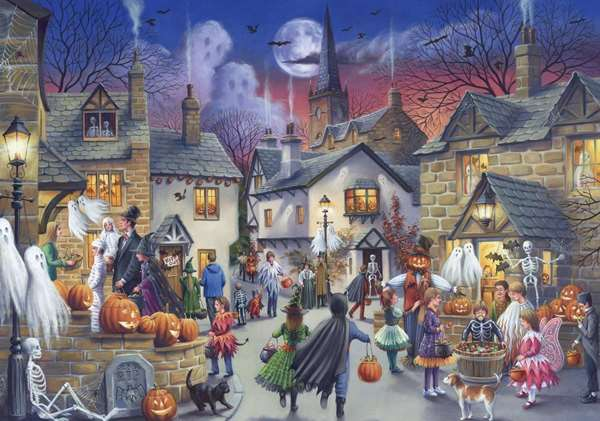 Halloween Jigsaw Puzzle From Jigsaw Puzzles Direct Order