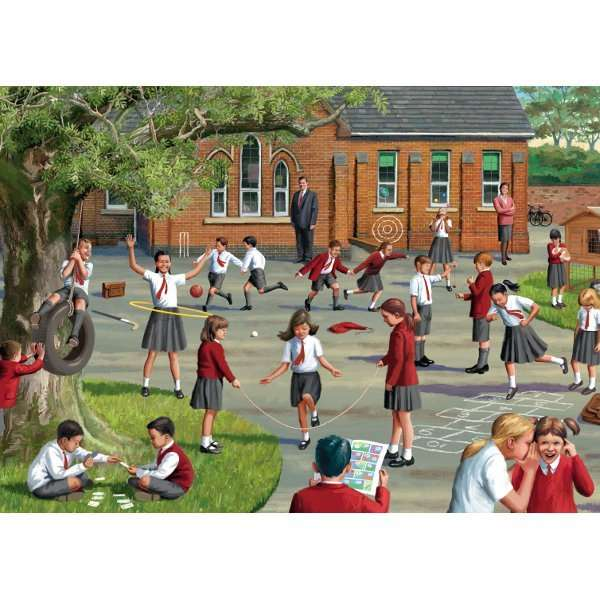 Back to School - 500pc jigsaw puzzle