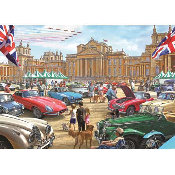 Classic Car Show - 1000pc jigsaw puzzle