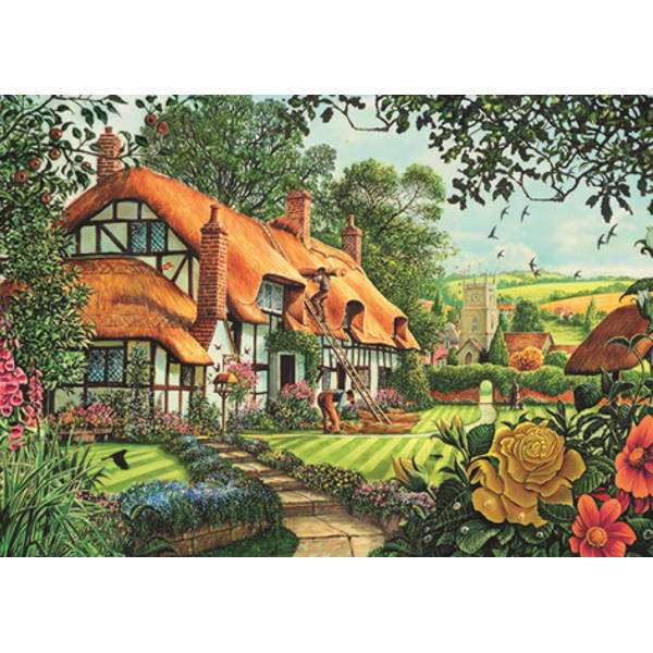 The Thatcher''s Cottage - 1500pc jigsaw puzzle
