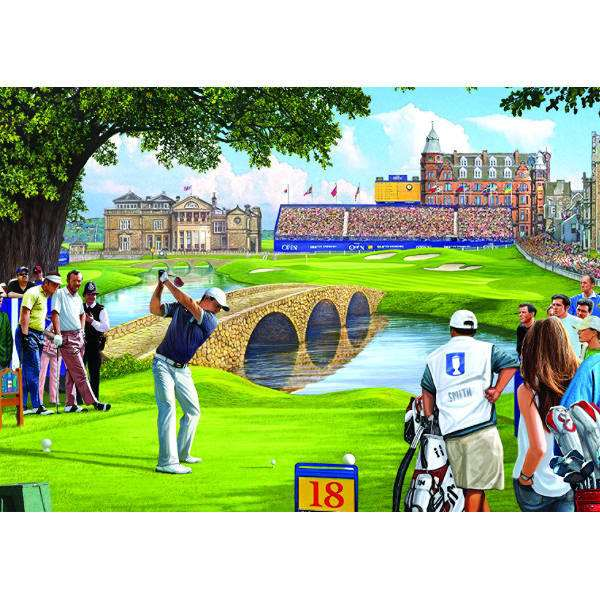 The 18th Hole - 500pc jigsaw puzzle