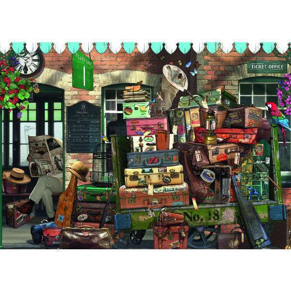 At the Station - 500pc jigsaw puzzle