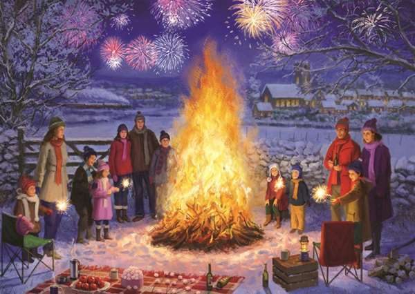 Bonfire Night 500pc Jigsaw Puzzle From Jigsaw Puzzles