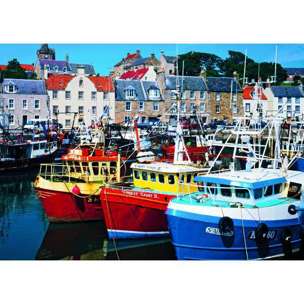 Fife Harbour - 1000pc jigsaw puzzle