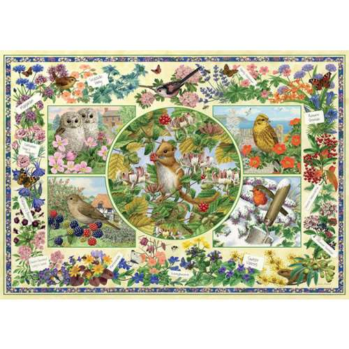 The Country Garden - 1000pc jigsaw puzzle