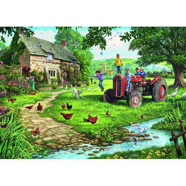 Old Tractor - 200XLpc jigsaw puzzle