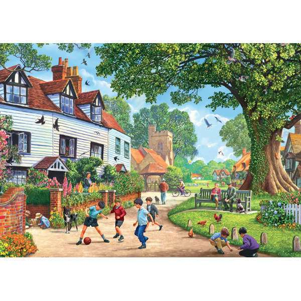 Brenchley Village - 1000pc jigsaw puzzle